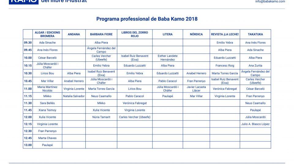 Programa professional Baba Kamo