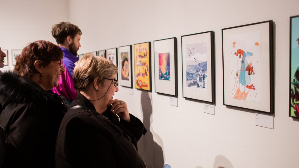 Participants exposició d'il·lustració editorial «Babalunga i Kamolongos» 2020