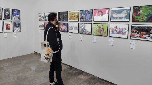 Un món il·lustrat al teu sofà: Baba Kamo llança un tour virtual de la seua exposició internacional